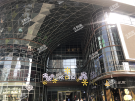 京基滨河时代广场实景图