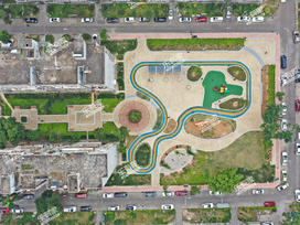 鸿运花园实景图