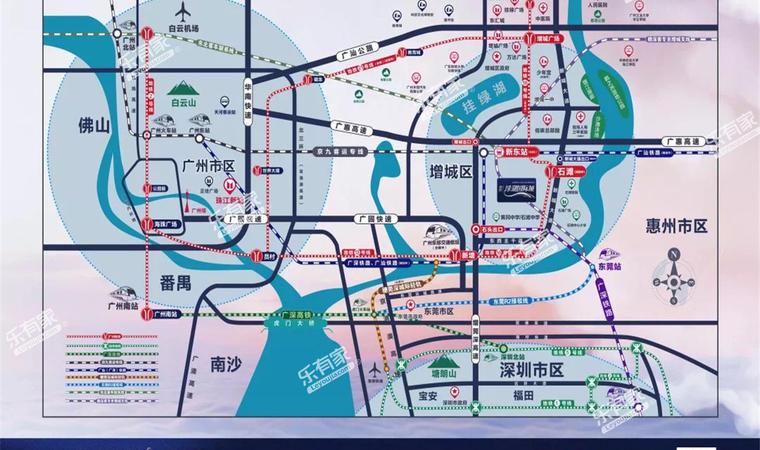 敏捷·绿湖首府位置图