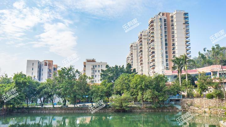 山水花城实景图