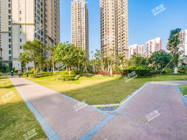 万科城市花园实景图