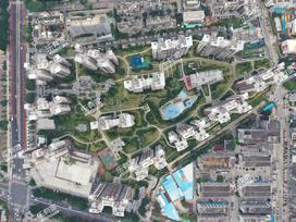 招商花园城二期实景图