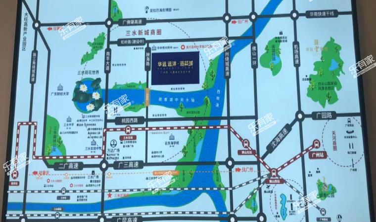 华远海蓝璟园位置图