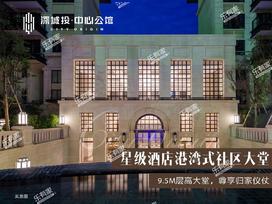 深城投中心公馆实景图