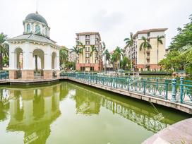 星港湾城市绿洲实景图