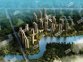 锦龙湾畔实景图