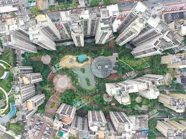 华发国际花园实景图