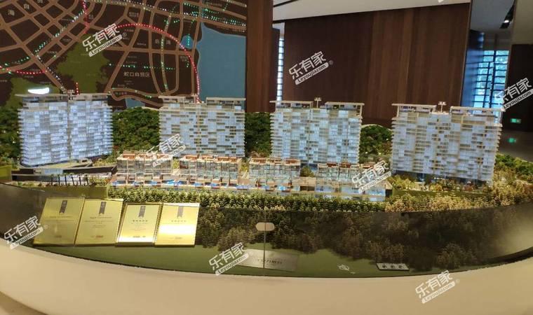 汉京半山公馆沙盘