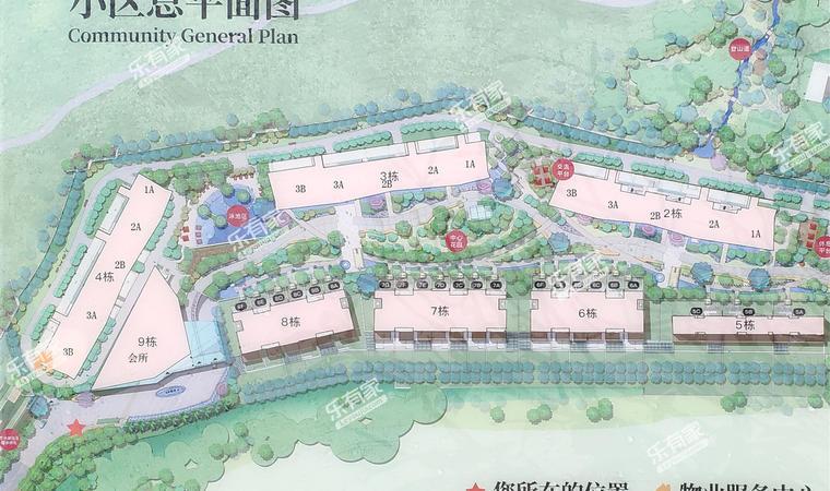 汉京半山公馆平面