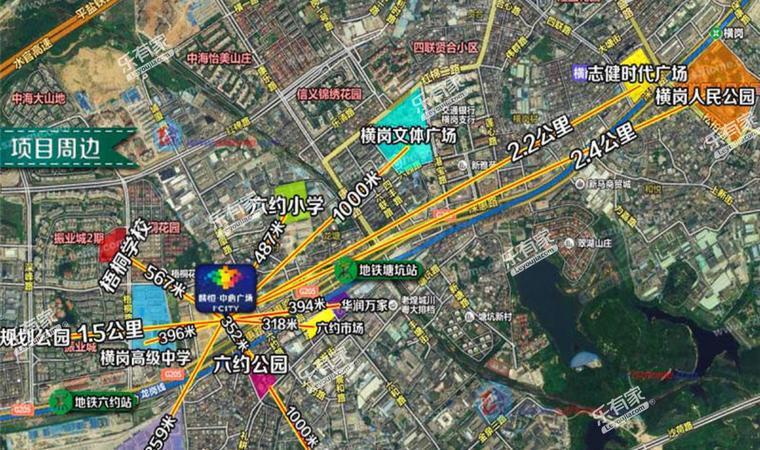 东城中心花园位置图