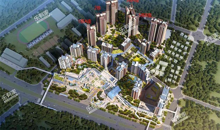 东城中心花园效果图3