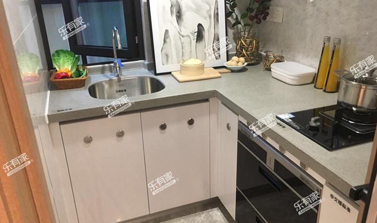 汇华商业中心55㎡样板房厨房
