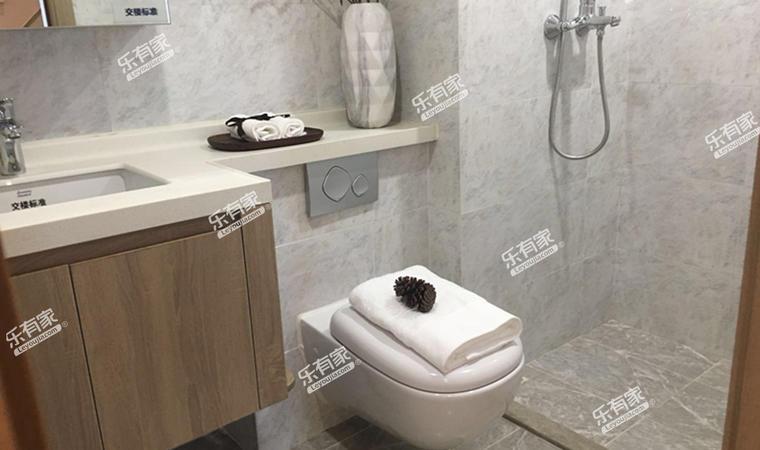 汇华商业中心55㎡样板房卫生间