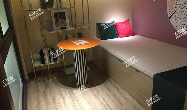汇华商业中心35㎡样板房卧室