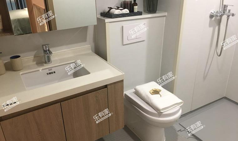 汇华商业中心55㎡样板房卫生间1