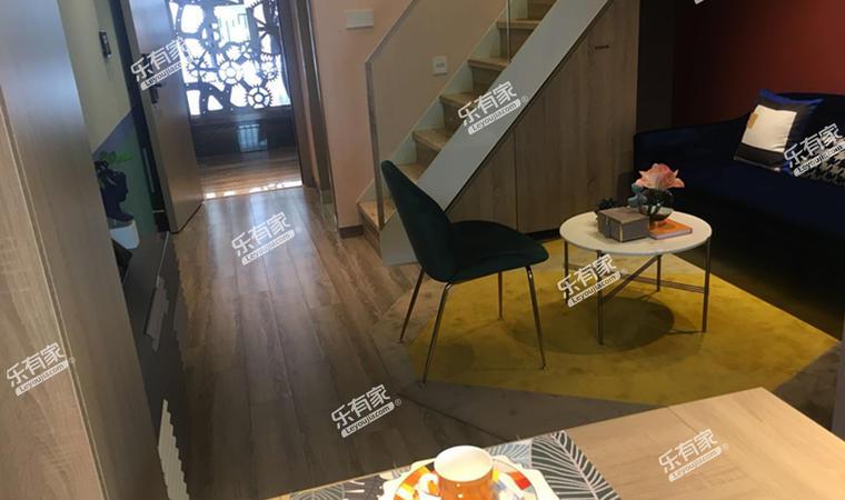 汇华商业中心35㎡样板房客厅