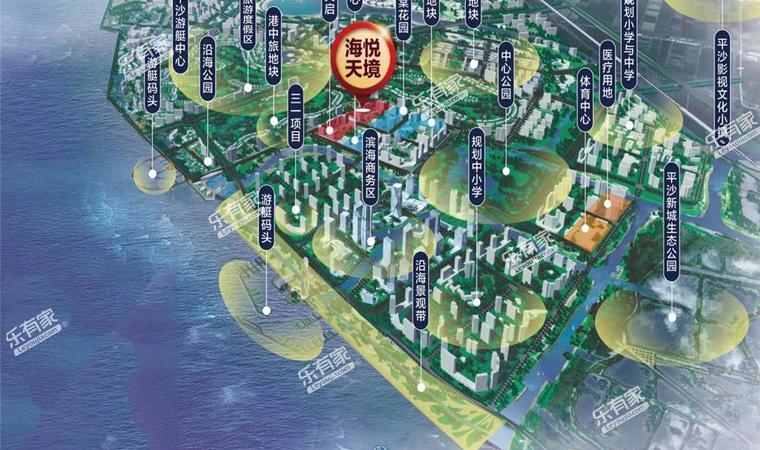 碧桂园保利海悦天境花园A区规划图1