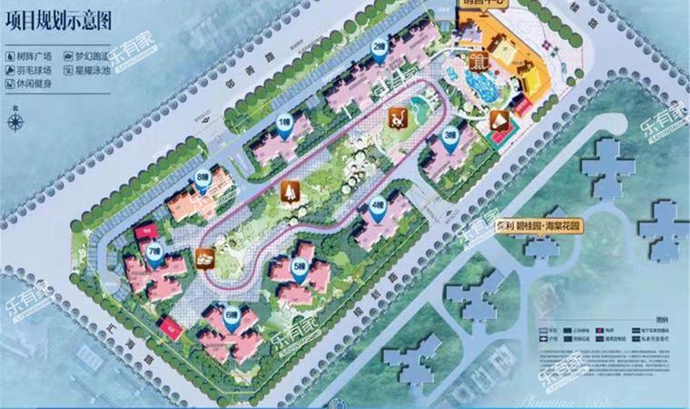 碧桂园保利海悦天境花园A区平面图1