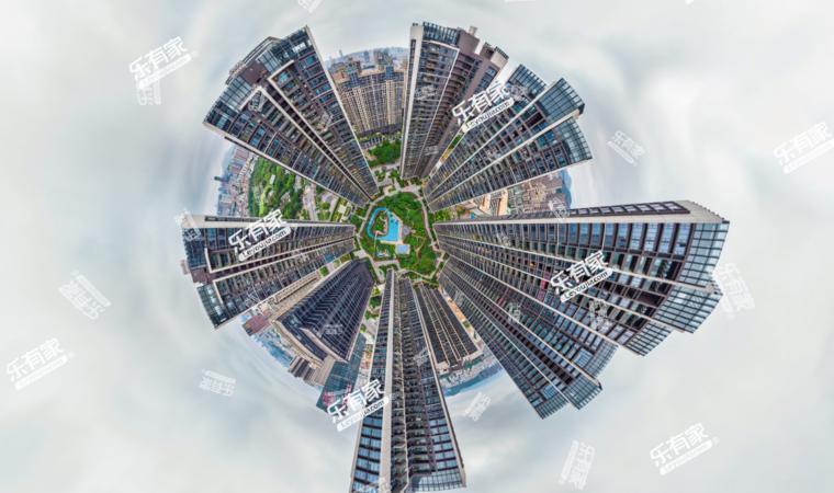 华联城市全景花园效果图1