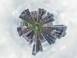 华联城市全景花园实景图