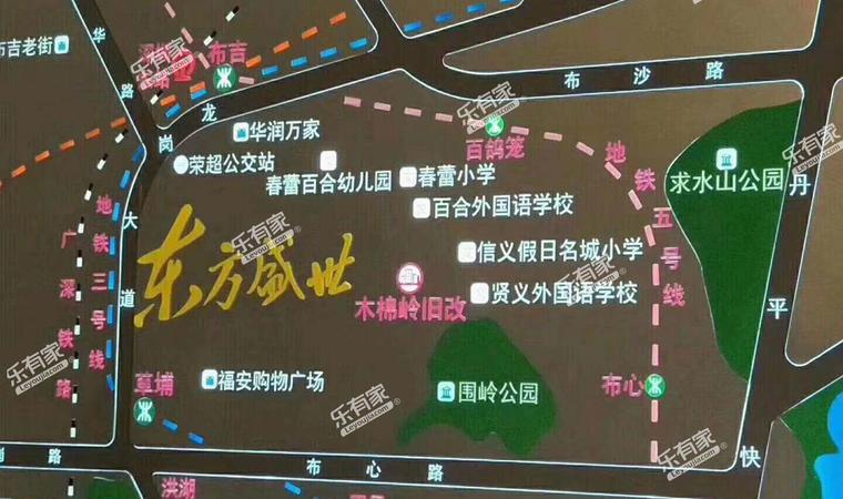 东方盛世花园位置图1