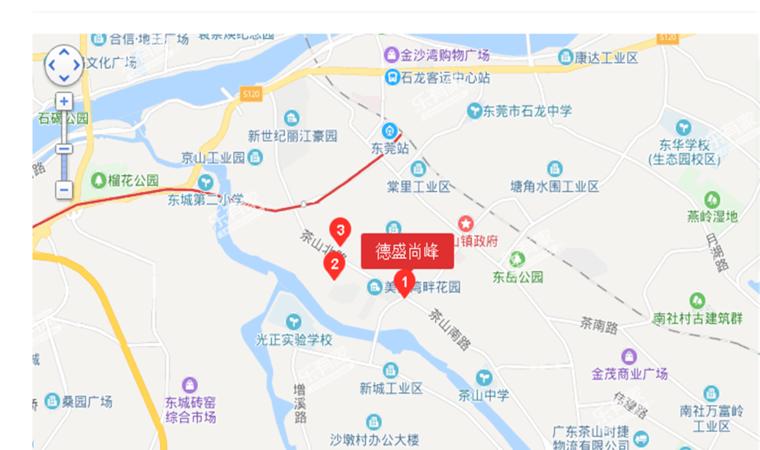 尚峰公馆1•位置图