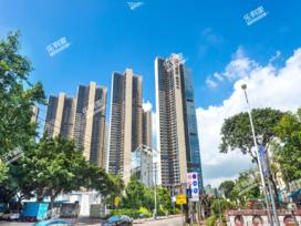 鸿荣源壹成中心花园9区实景图