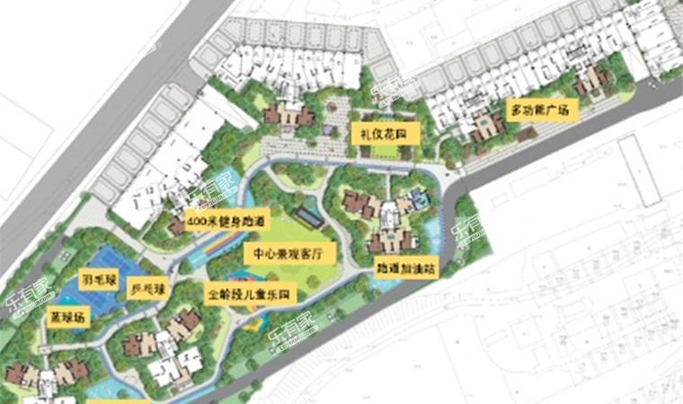 鼎盛悦玺台小区平面图1