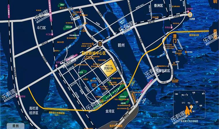 碧桂园天玺湾花园沙盘图1