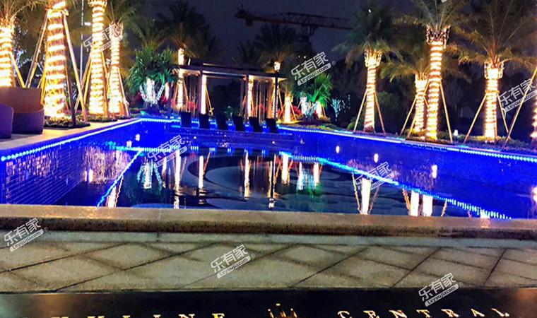 碧桂园天玺湾花园实景图3