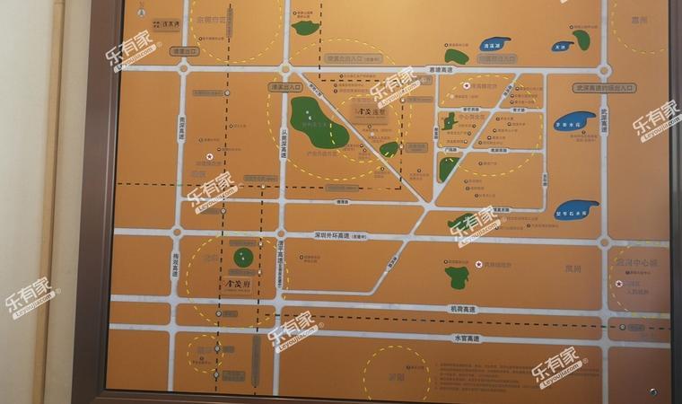 金茂花园区位图