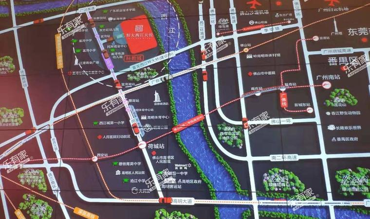 清荃湾花园位置图1
