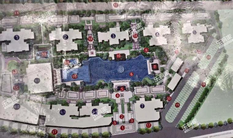 清荃湾花园小区平面图1