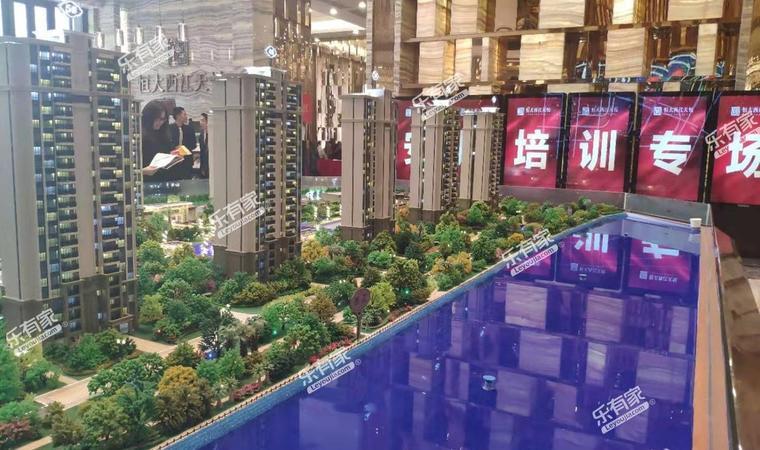 清荃湾花园沙盘图2