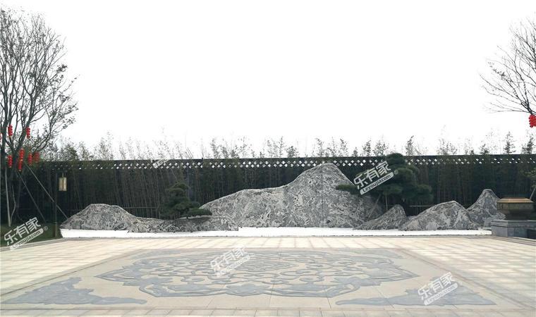 世茂泰禾广州院子实景图01
