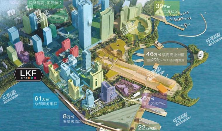 太子湾商贸大厦规划图