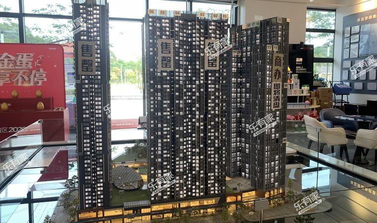 万科城市之光广场效果图1