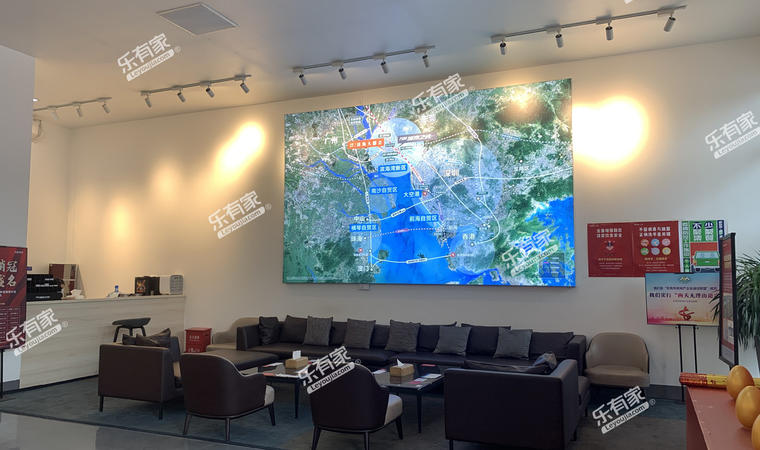 万科城市之光广场实景图3