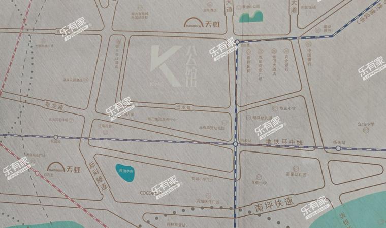 佳华领汇广场二期配套图2