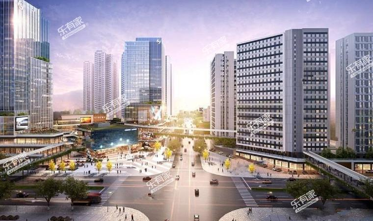 智领商业广场实景图2