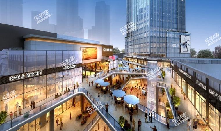 智领商业广场效果图1