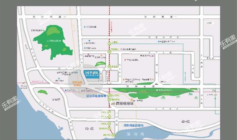 招商海创谷科技大厦位置图1