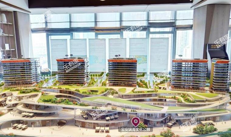 海府生态大厦沙盘图3