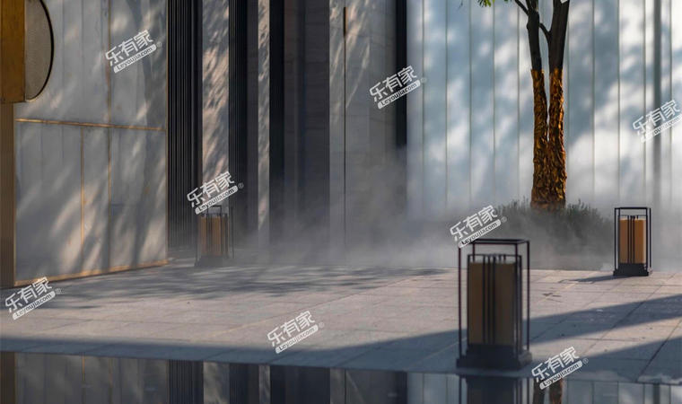 景商领峰花园实景图2