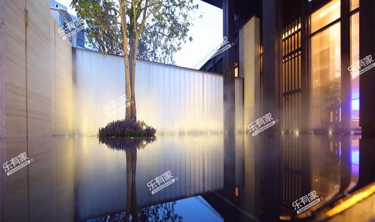 景商领峰花园实景图7