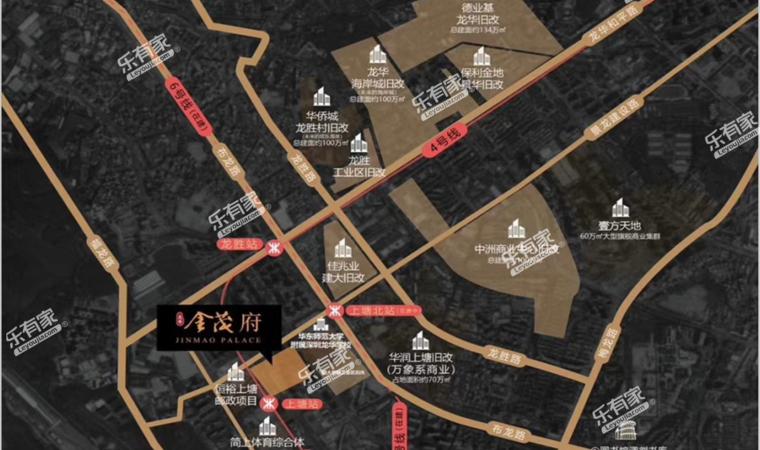 金茂府公寓位置图1