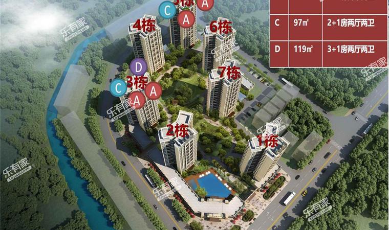 广银大都会花园效果图2