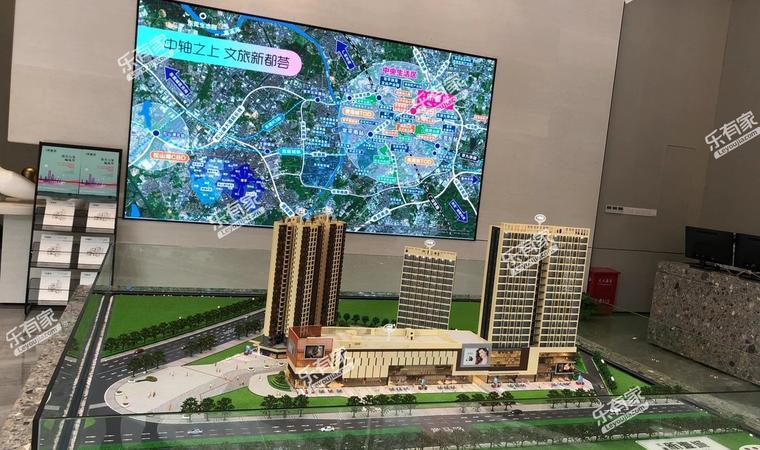 三盈广场沙盘图1