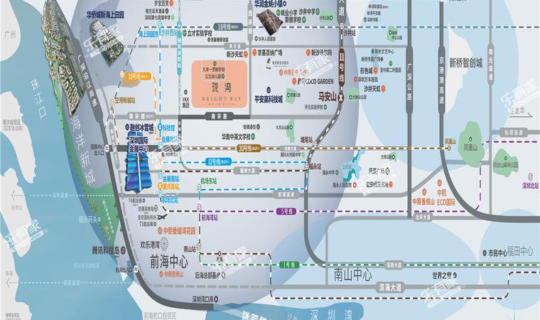 珑湾世界花园位置图1