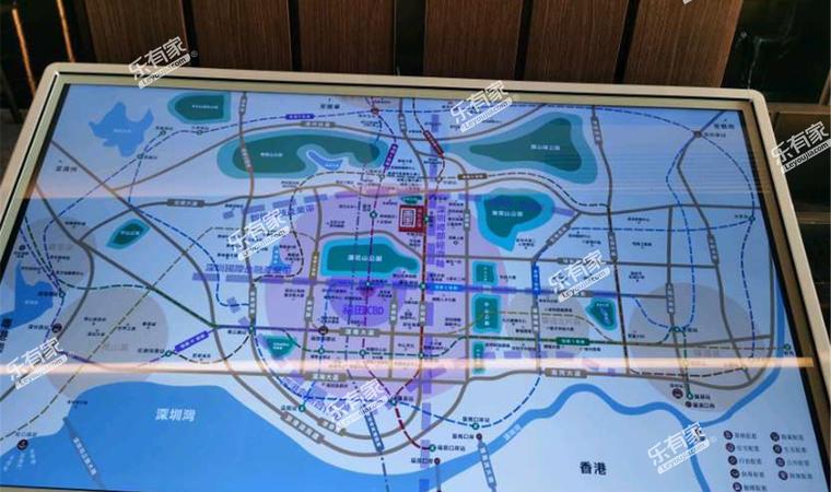 湾新公馆位置图2